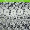 Cotton French Chemical Embroidery Floral Dress Lace