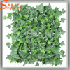 Cafeteria Landscape Design Synthetic Grass Used Artificial Sweet Potato Leaves