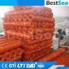 Durable HDPE Plastic Coated Wire Netting Field Fence