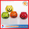 Hallowmas Decoration Smile Pumpkin Glass Candle Holder