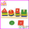 Hot Wooden educational toy - building block (W13D007)