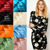 Silk Fabrics Suppliers Plain Dyed 16 mm 100% Silk Satin Fabric