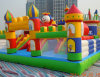2017 Most Popular Outdoor Inflatable Bouncer Castle