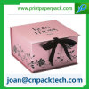 Colorful Satin Ribbon Butterfly Knot Paper Box