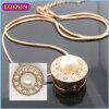 Factory Price Wholesale Rose Gold Necklace Pearl Necklace