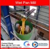 China Wet Pan Grinding Mill for Rock Gold Plant