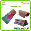 Colorful Design Printed Yoga Mat with Cork Top Layer