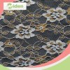 New Lace Designs Garment Polyester Gold Lace Fabric
