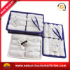 Printed Portable Travel Wet Towel Set Disposable on Board