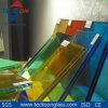 6.38mm Dark Blue Safety Laminated Glass for Decorate Glass
