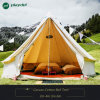 Outdoor Luxury Cotton Canvas Family Camping Bell Tents with Stove Hole Family Camping Tent