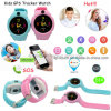 Sos Button Kids GPS Watch Tracker with Flashlight&Camera D14