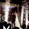 Wedding Spark Fireworks Effect Equipment DMX Remote Cold Pyrotechnics Fountain Stage Machine