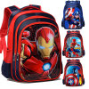 3D Cartoon Iron Man Spiderman Captain America Boy Girl Children Kindergarten School Bag
