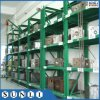 Heavy Duty Pullout Shelves Racking with Crane Hoist