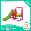 Indoor Playground Equipment Plastic Combine Slide and Swing