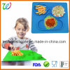 Anti-Slip Table Kids Silicone Rubber Baby Placemat for Kids