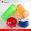 20oz/600ml plastic protein shaker bottle with shaker ball and handle(KL-7010D)