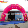 Outdoor Advertising Inflatable Round Shaped Arch for Fairs