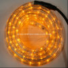 Christmas Light Yellow 2 Wire Horizontal LED Rope Light