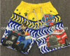 Oeko-Tex Full Elastic Waist Polyester Patterned Children Board Short Swimwear
