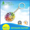 Full Color Keychain with Nickle Plating Metal for Wholesales