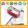 Double-Deck Metal Tin Box for Pencil Case Stationery Container