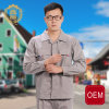 OEM Manufacture Factory Work Wear Oil Resistant Coverall, Engineering Uniform Workwear in Autumn