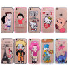 Customized Acrylic Untra Silm TPU Mobile Phone Case for iPhone 6/7/8