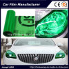 Self-Adhesive Green Color Car Headlight Film Car Tint Vinyl Films 30cmx9m