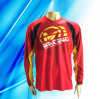 100% Polyester Man′s Long Sleeve Motorcycle Jersey