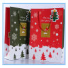 Various Good Quality Christmas Tree and Snow Large Paper Gift Bag/ Store Packaging Shopping Bag with Handle and Greeting Card