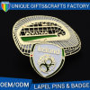 Ireland Famous Building Custom Logo Badge for Souvenir