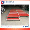 Adjustable Movable Outdoor or Indoor Party Plywood Aluminum Lighting Stage
