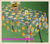 Vinyl PVC Printed Transparent Tablecloth Fruit Designs