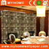 Waterproof Decorative 3D Vinyl Wallpaper for Restaurant