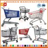 Zinc or Chrome Plated Supermarket Shopping Trolley Store Cart (Zht77)
