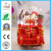Polyresin Resin OEM Wedding Decoration Water Snow Globe