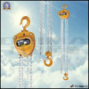 1t Overload Limited Manual Chain Hoist Block