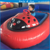 Inflatable Bumper Boat Powred by Battery 12V 33ah for 1-2 Kids with FRP Body and PVC Tarpaulin Tube