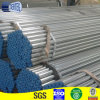 Galvanized steel pipe with plastic cap