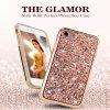 2 in 1 Slim Hybrid Glitter Phone Case Cover for Phone X