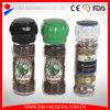 Glass Salt and Pepper Mill and Grinder with Pumpkin Shape Glass Lid, Herb Grinder, Herb Mill, Spicy Grinder, Spicy Mill