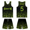 Full Sublimation Basketball Jersey Uniform T Shirt for Team