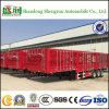 Poultry Transport Stake Semi Trailer Fence Truck Trailer for Sale