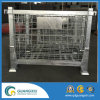 Euro Stackable Galvanized Wire Mesh Container for Storage in Lifting Type