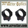 Vector Optics Tactical 35mm Scope Ring Mount Diameter on 20mm Weaver Picatinny Rail