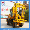 High Quality Press Pile Driver, Wheel Type Pile Driver Machine
