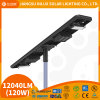 Outdoor 60 Watt Integrated Intelligent IP65 Streetlight Lamp 60W Smart Motion Sensor All in One Solar LED Street Light