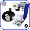 20W Fiber Laser Marking Machinery for TV Pot Metal Plastic Logo Mark